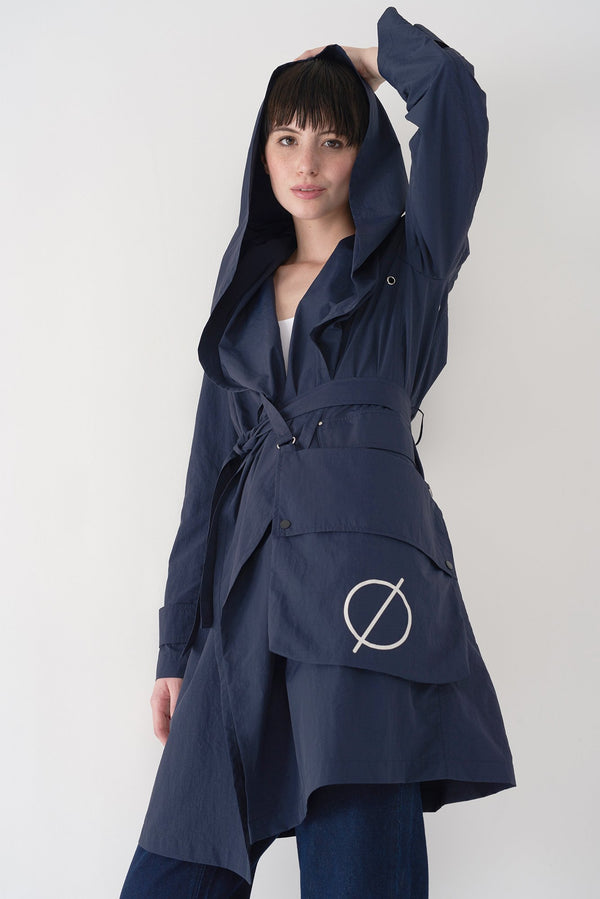 FLO - Packable Light Hooded Raincoat - Søsken Studios
