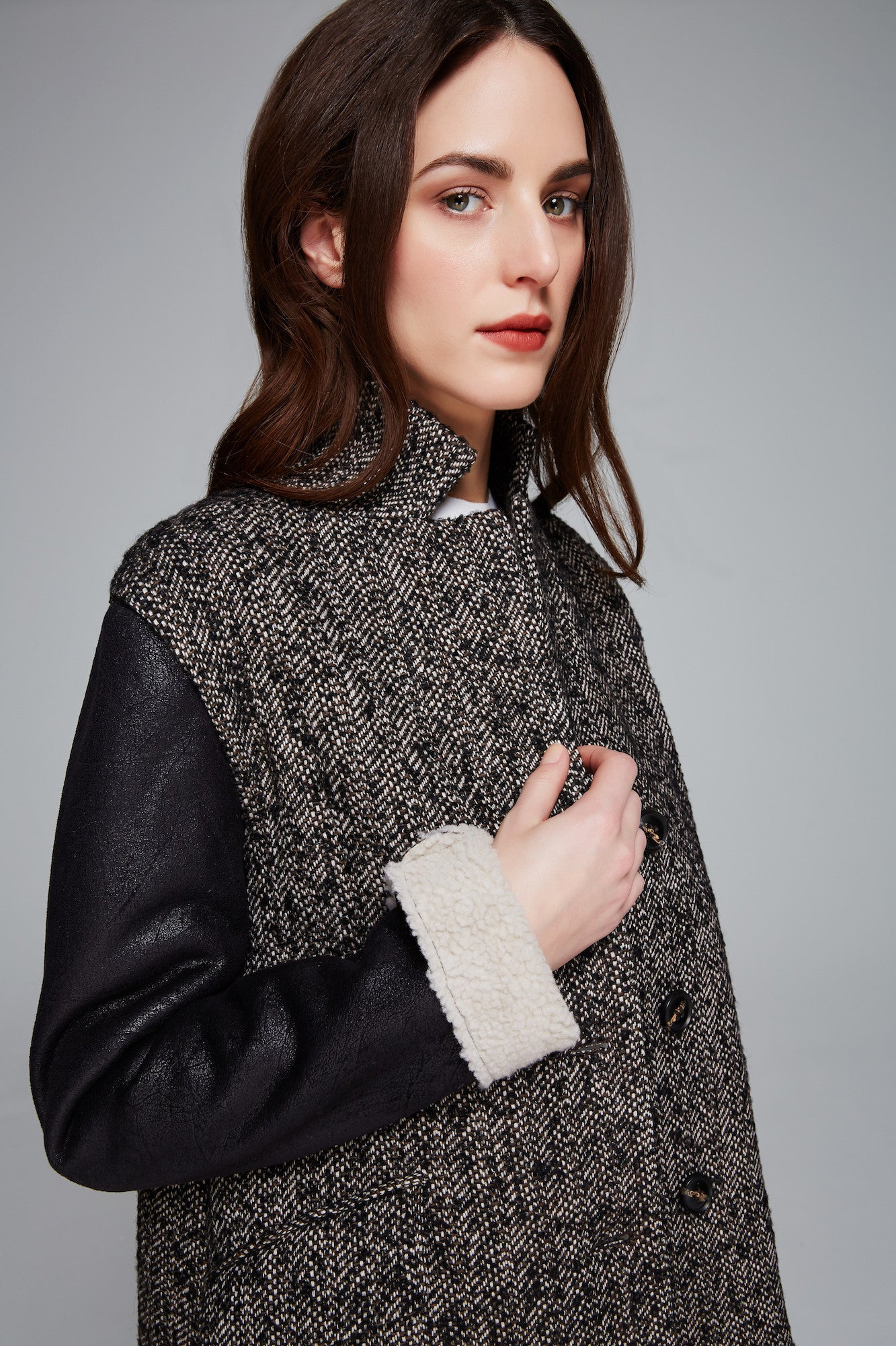 Brodie Novelty Tweed Wool Jacket