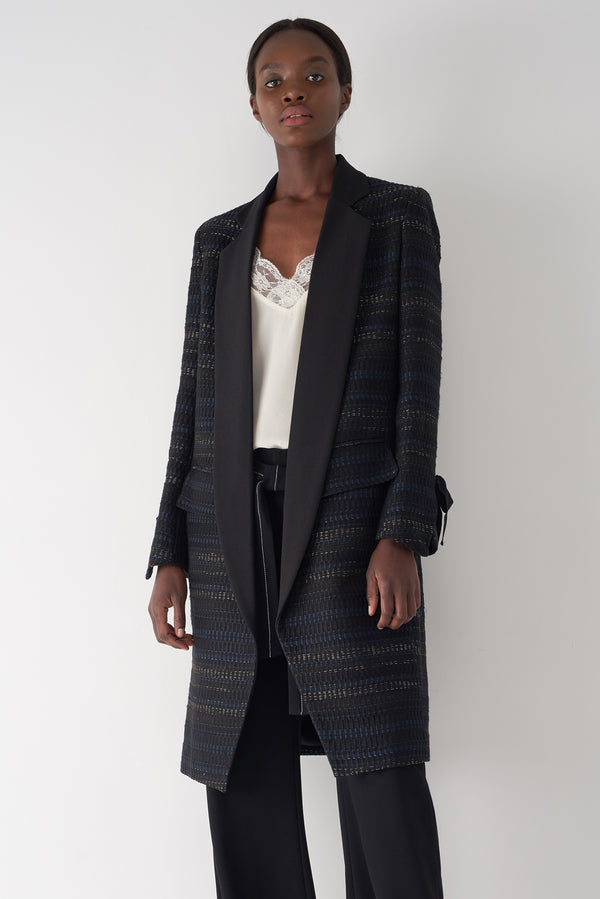 GABY - Basket Jacquard Coat