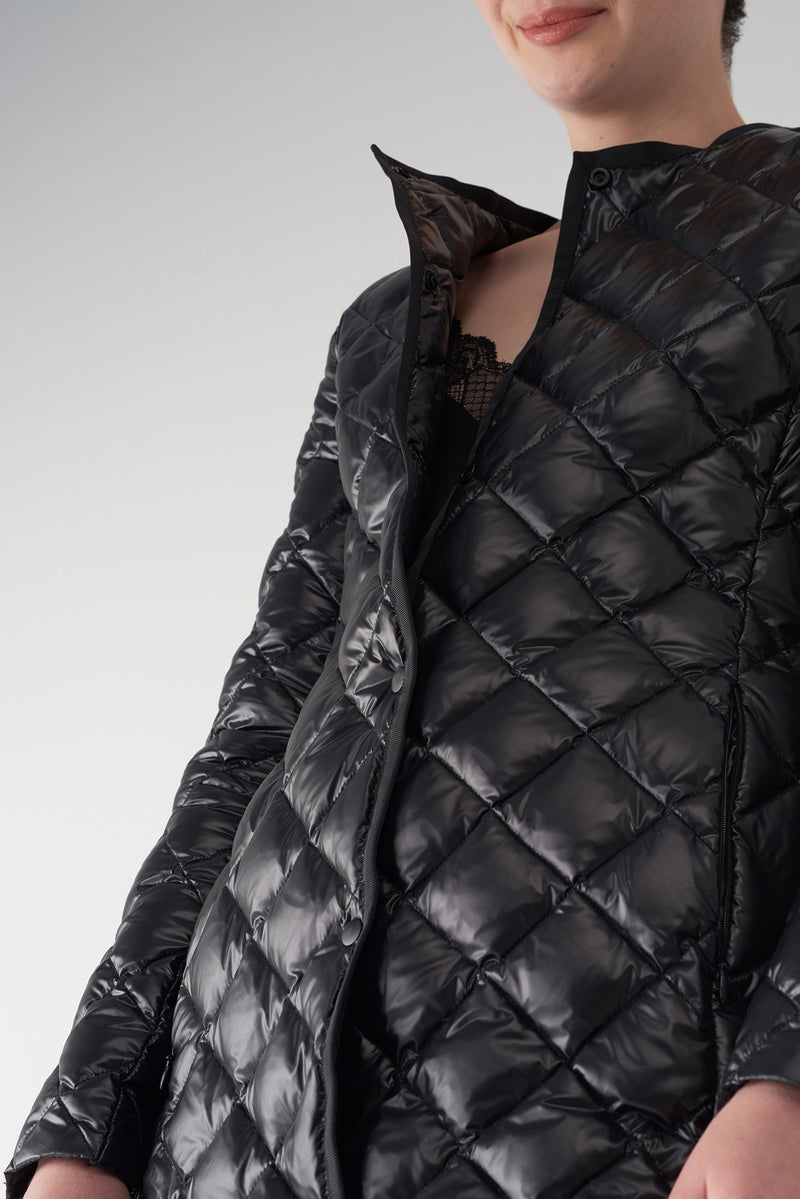 GHIA BLACK - Lightweight Down Jacket