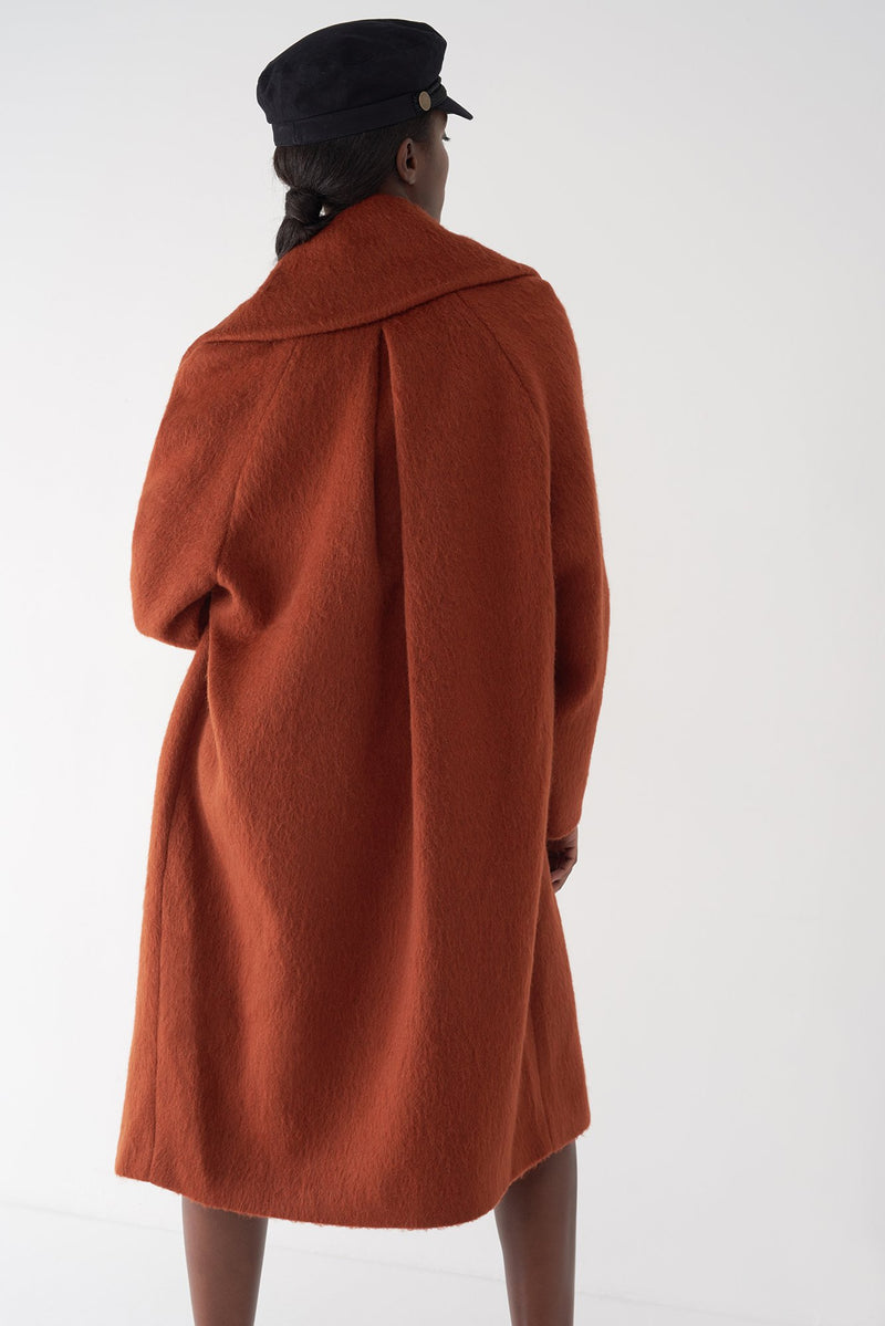 GIGI - Oversized Cocoon Coat