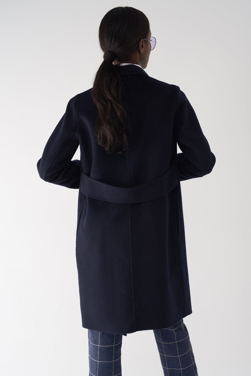 GLORIA NAVY - Cashmere Blend Jacket