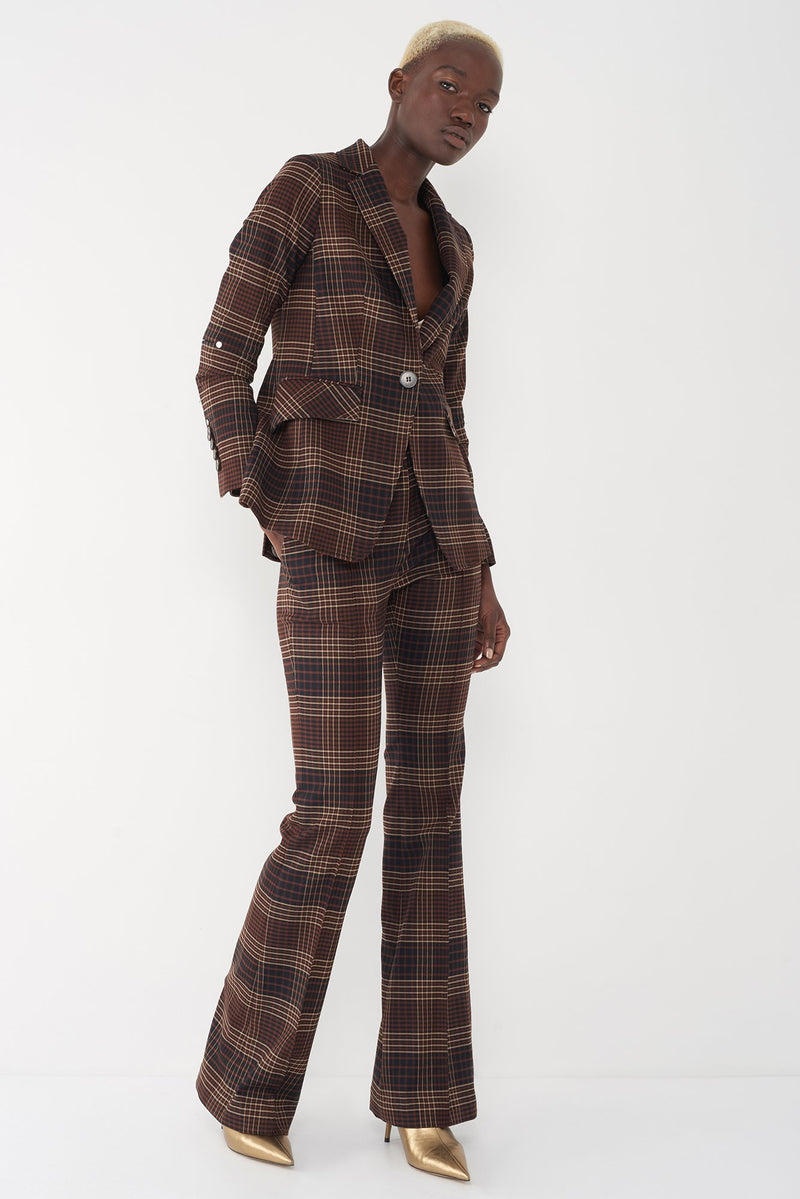 JOHN - PLAID BLAZER