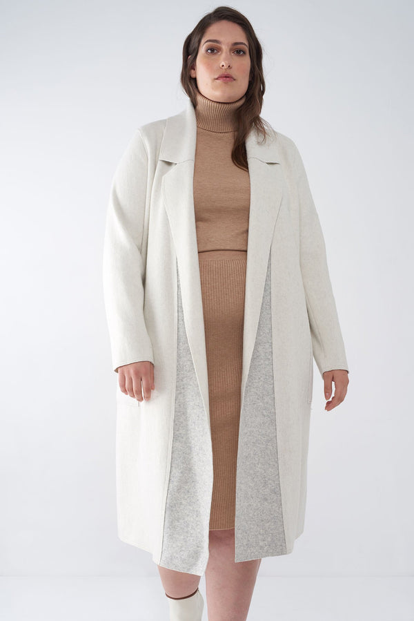 BELLA BONE - BRUSHED KNIT DUSTER
