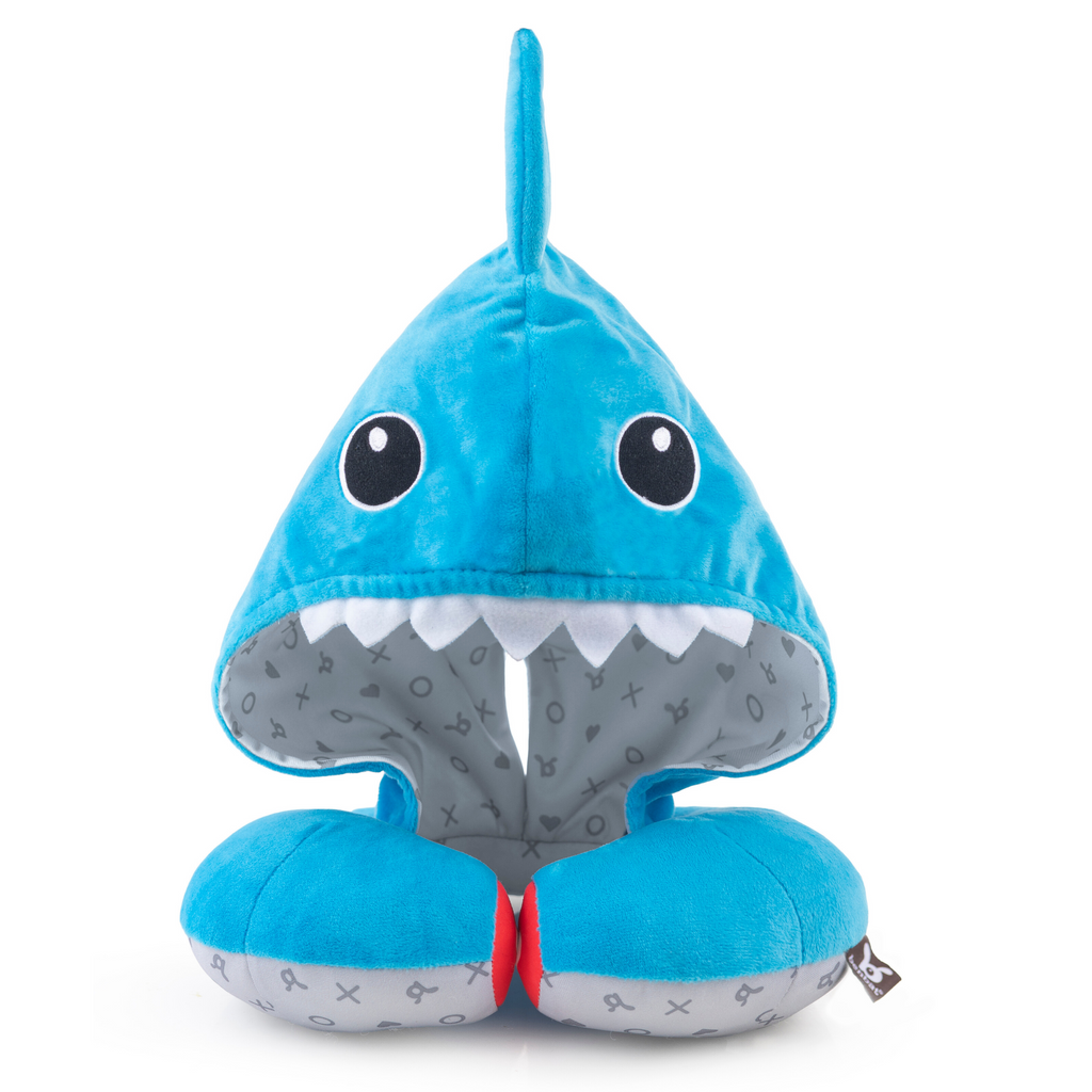 Hoodie Soft Headrest - Shark