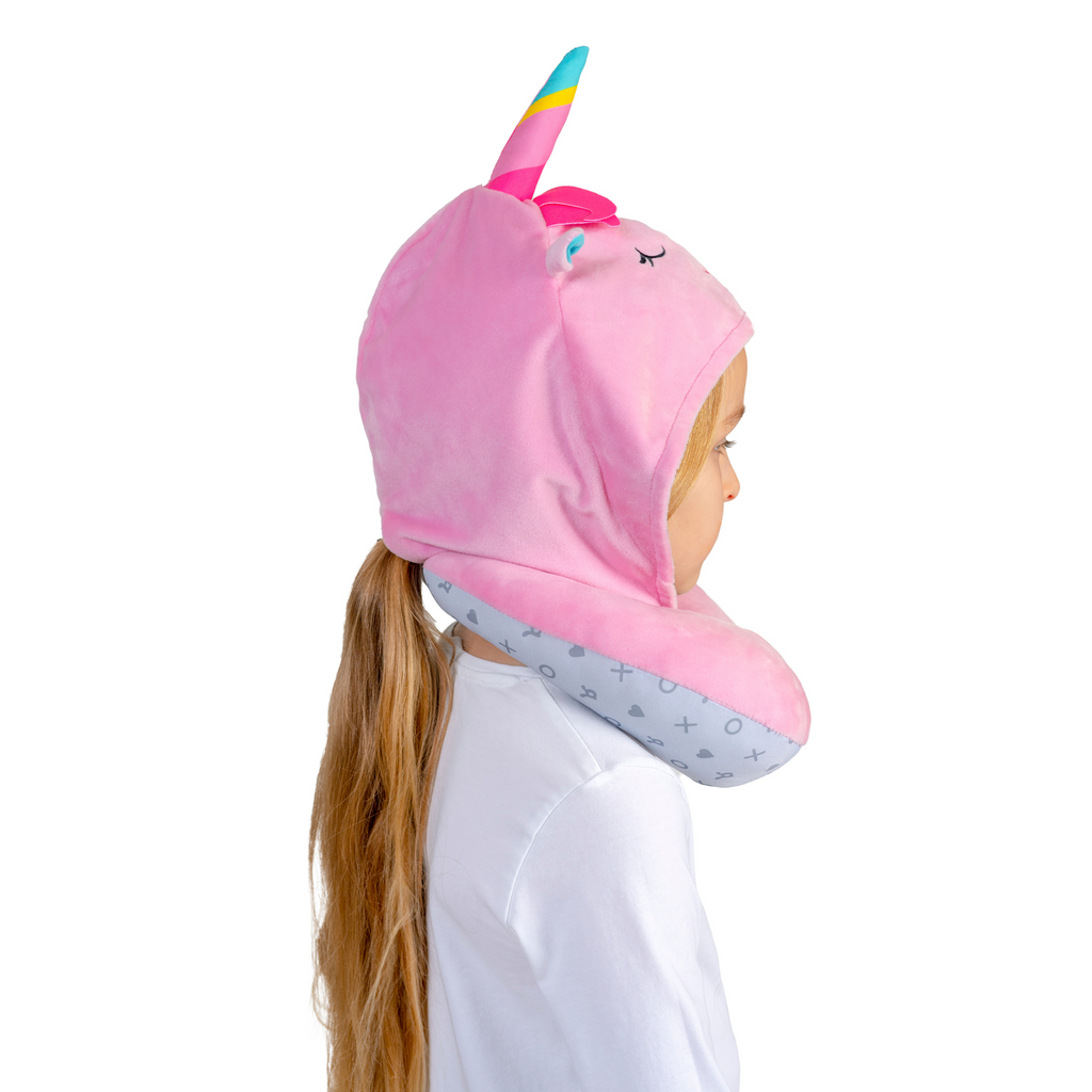 Hoodie Soft Headrest - Unicorn