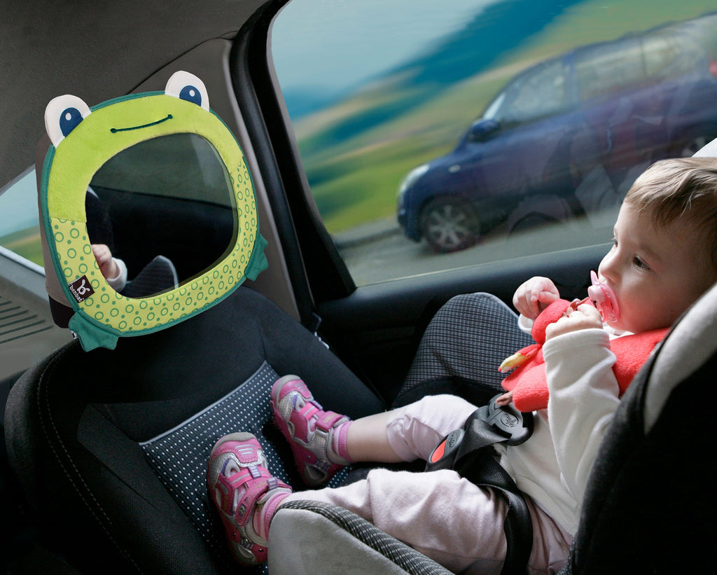 Travel Friends Baby Car Mirror - Frog - aroundthecrib