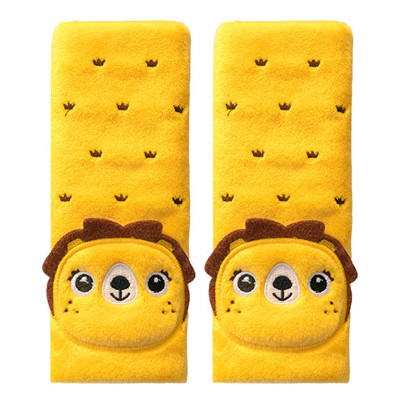 Seat Belt Pals 1-4 - Lion - aroundthecrib