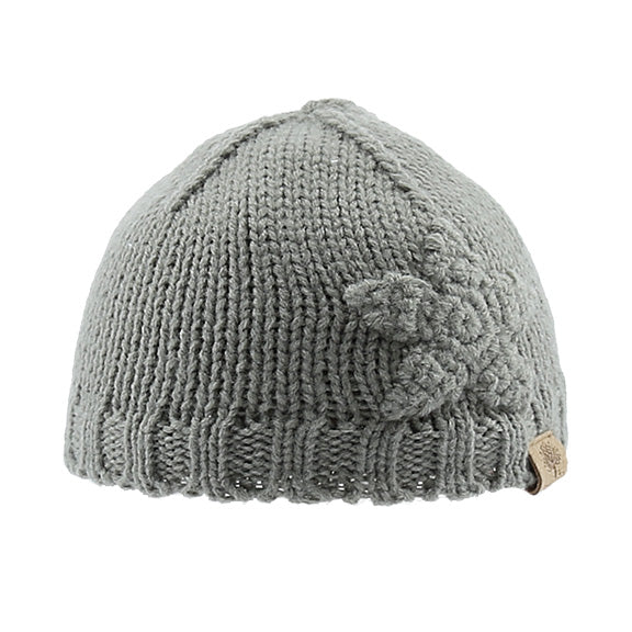 Knitted Beanie with Elevated Shape - aroundthecrib