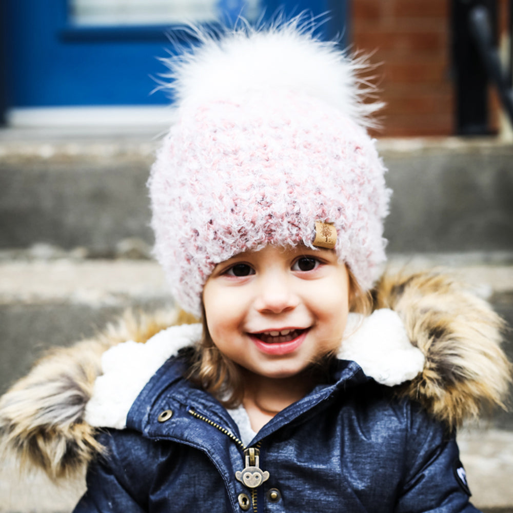 Knitted Beanie Beret Style - aroundthecrib
