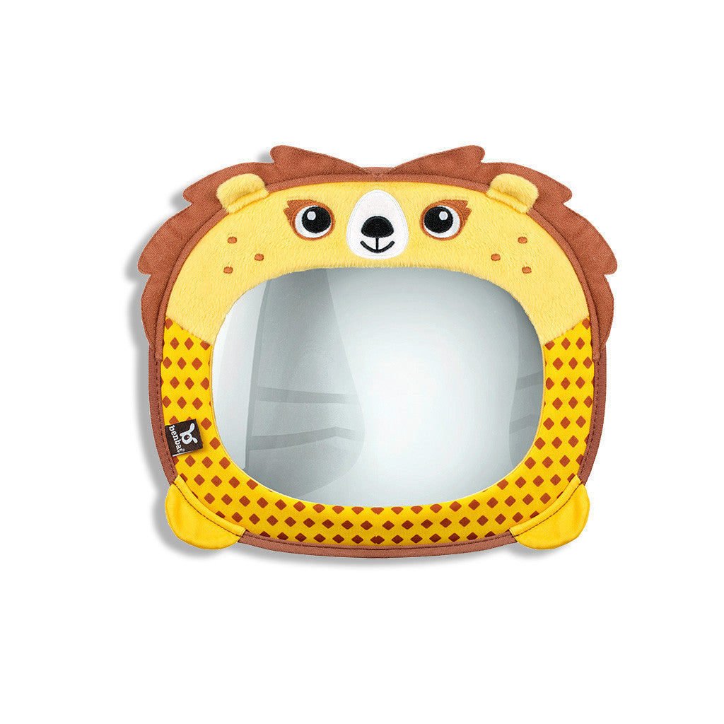 Travel Friends Baby Car Mirror - Lion - aroundthecrib