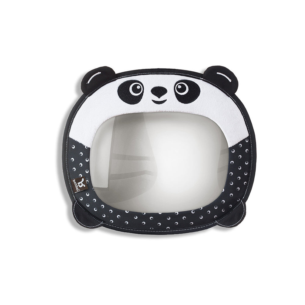 Travel Friends Baby Car Mirror - Panda - aroundthecrib