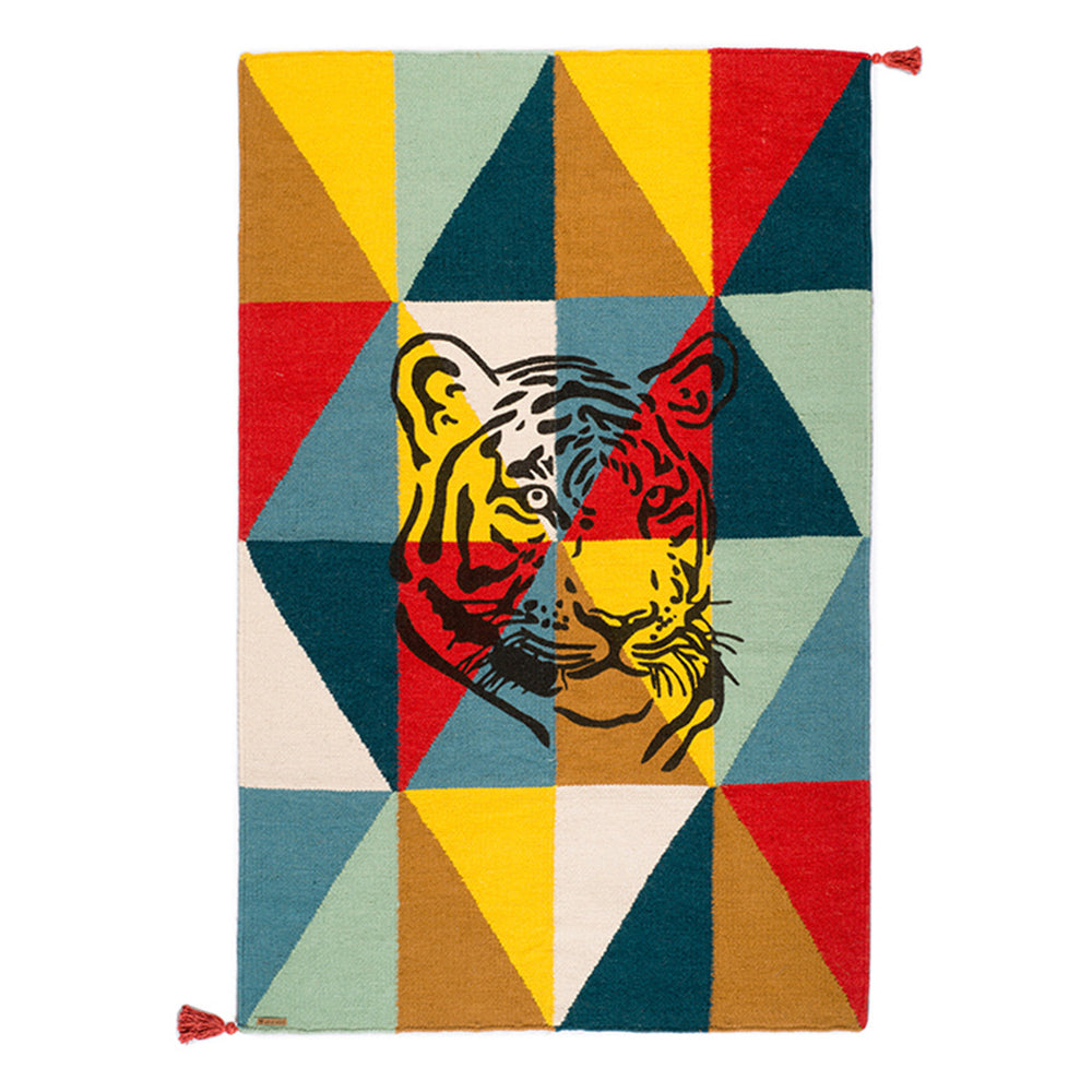 Rug Circus Collection - Tiger Red - aroundthecrib