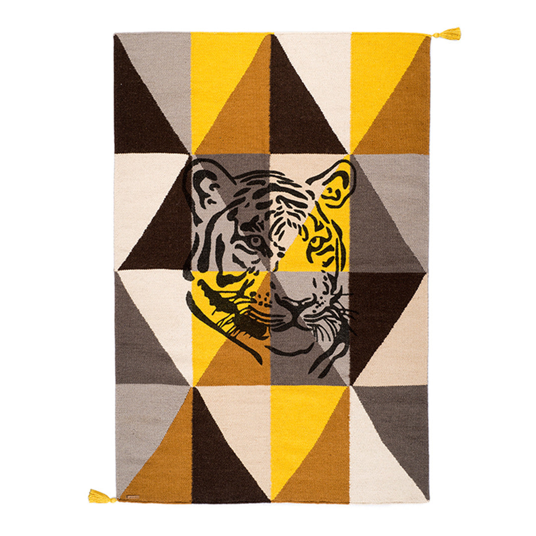 Rug Circus Collection - Tiger Yellow