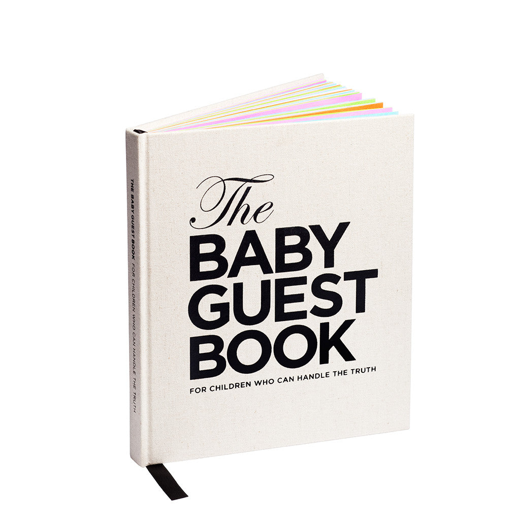 The Baby Guest Book - aroundthecrib
