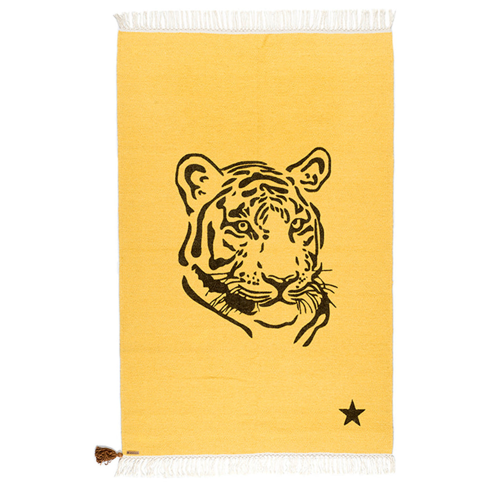 Rug Gypsy Collection - Tiger Yellow - aroundthecrib