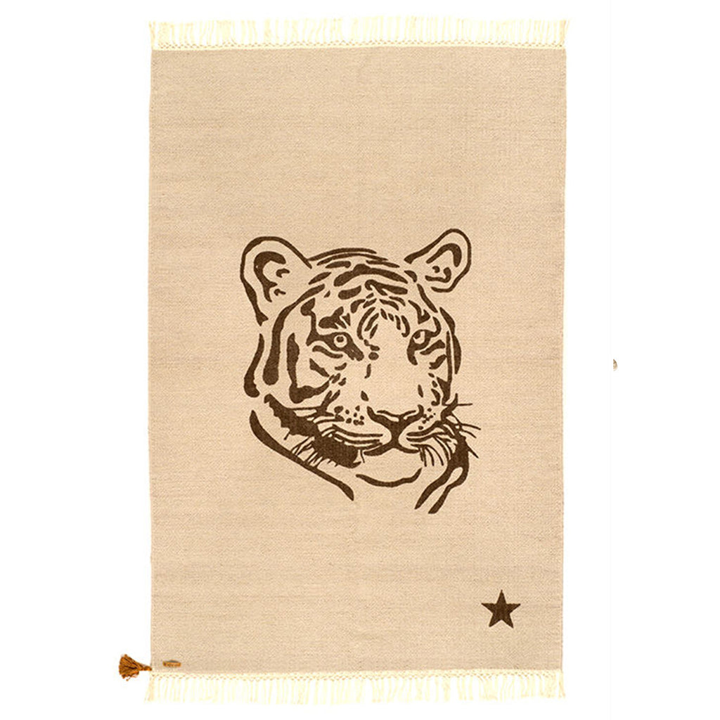 Rug Gypsy Collection - Tiger Beige - aroundthecrib