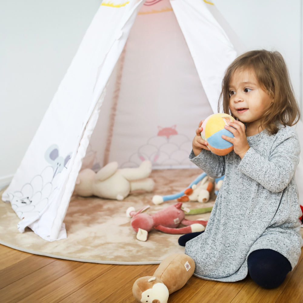 Visit at the Zoo Tent w/LED & MAT - aroundthecrib