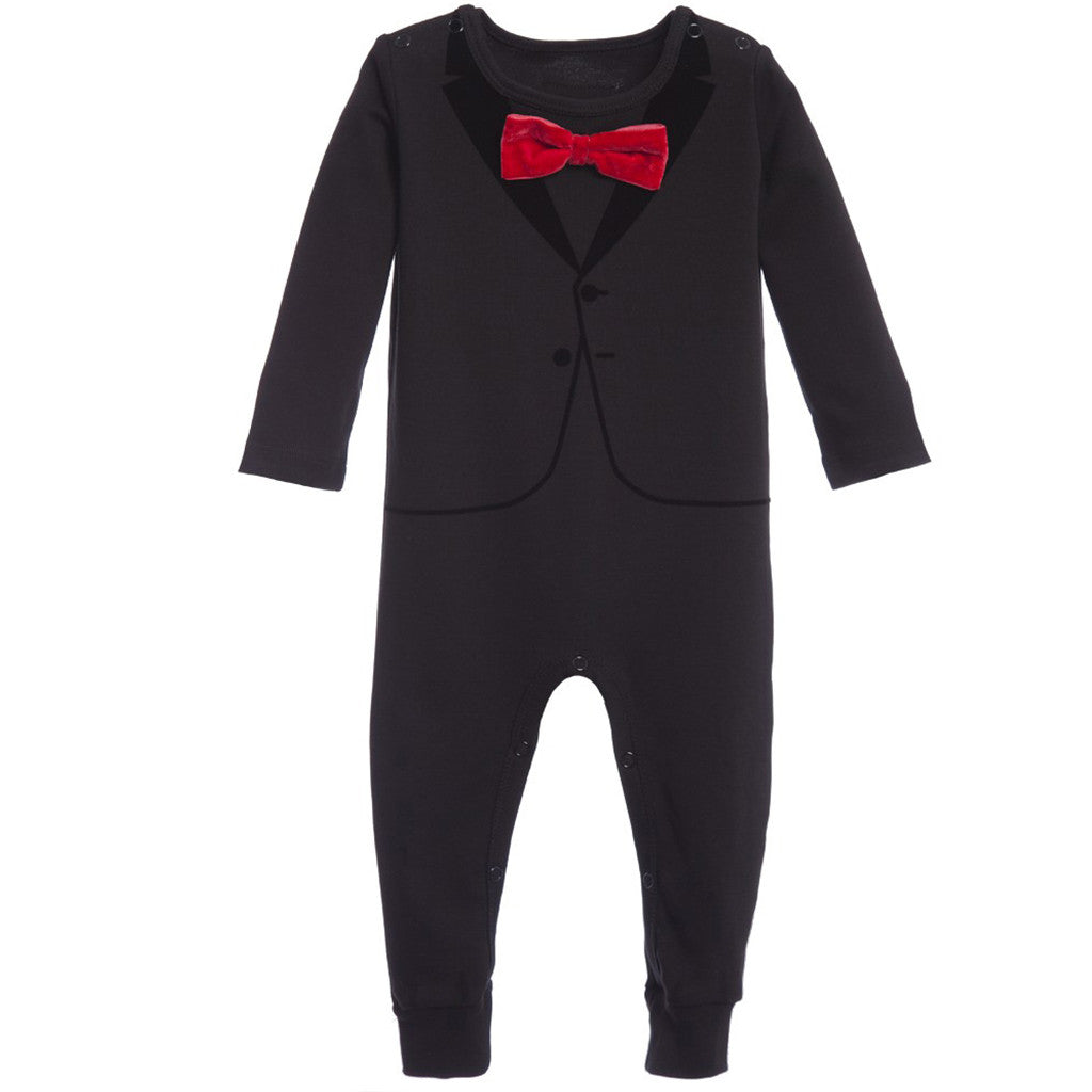 The Casual Suit Red Bow - aroundthecrib