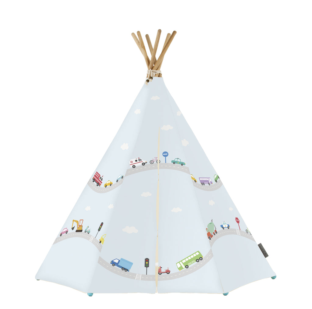 Little Journey Tent w/LED & MAT - aroundthecrib