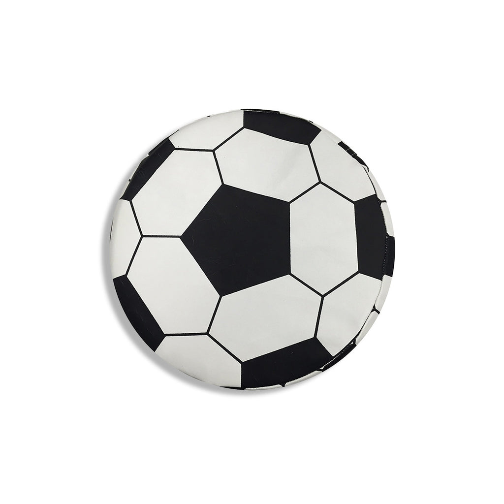Soccer Ball Vinyl Cushion - aroundthecrib