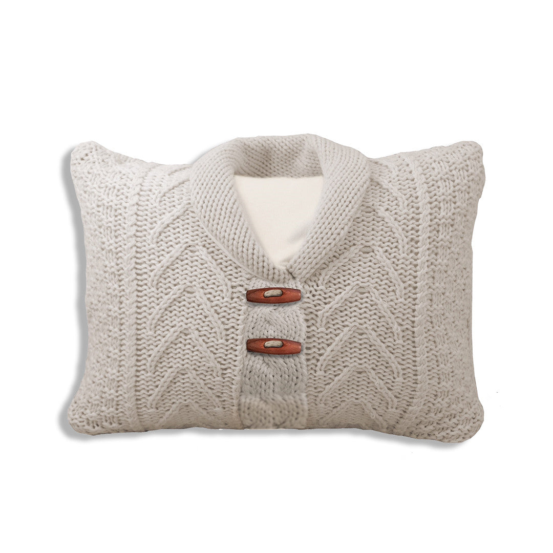 Cable Sweater Pillow