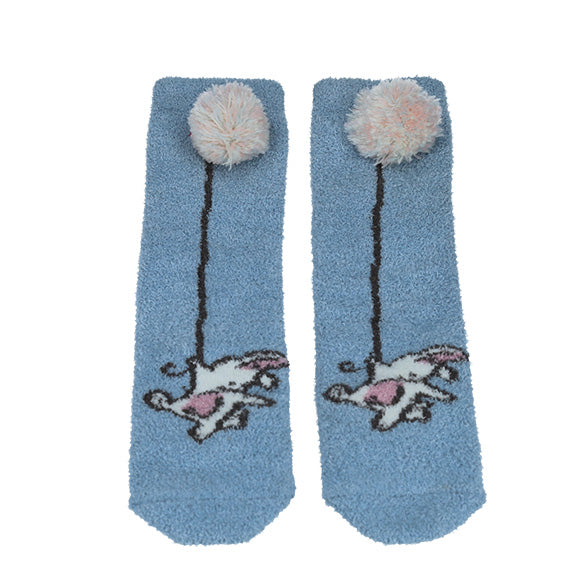 Donut Socks - Blue - aroundthecrib