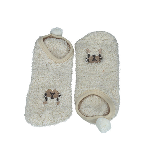 Animal Socks - Beige - aroundthecrib
