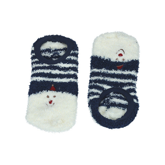Animal Socks - Navy Stripe - aroundthecrib