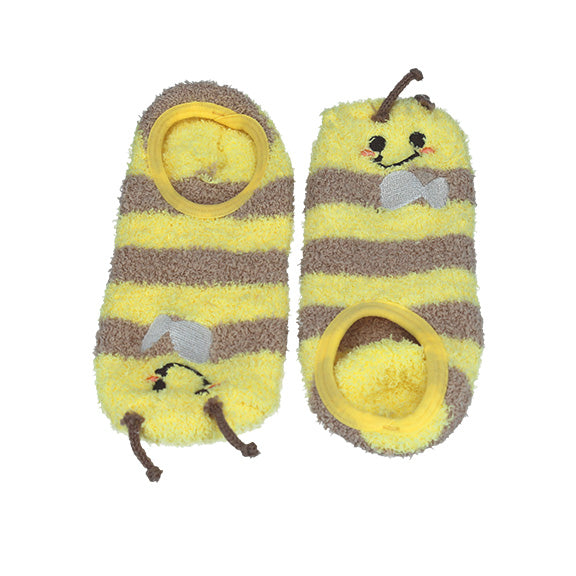 Animal Socks - Yellow - aroundthecrib