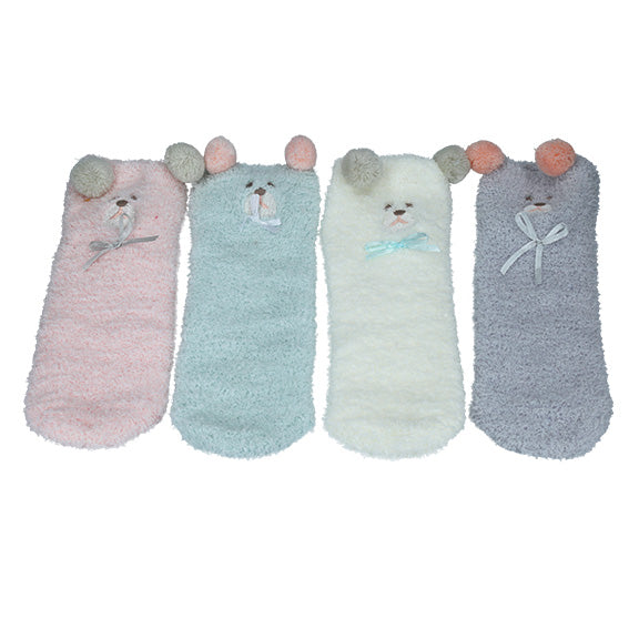 Baby Bear Box Sock Set - aroundthecrib