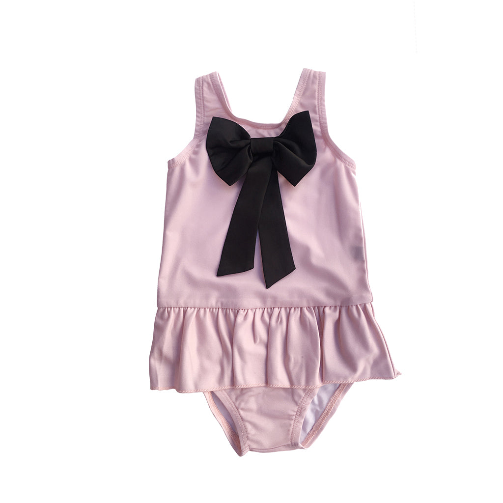 The Tiny Swimsuit | Soft Pink - aroundthecrib
