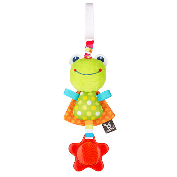 Dazzle Friends - Travel Jitters - Frog - aroundthecrib