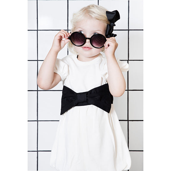 The Tiny Ribbon Dress - aroundthecrib