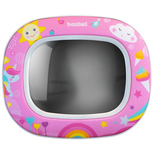 Night & Day Car Mirror - Magical Unicorn