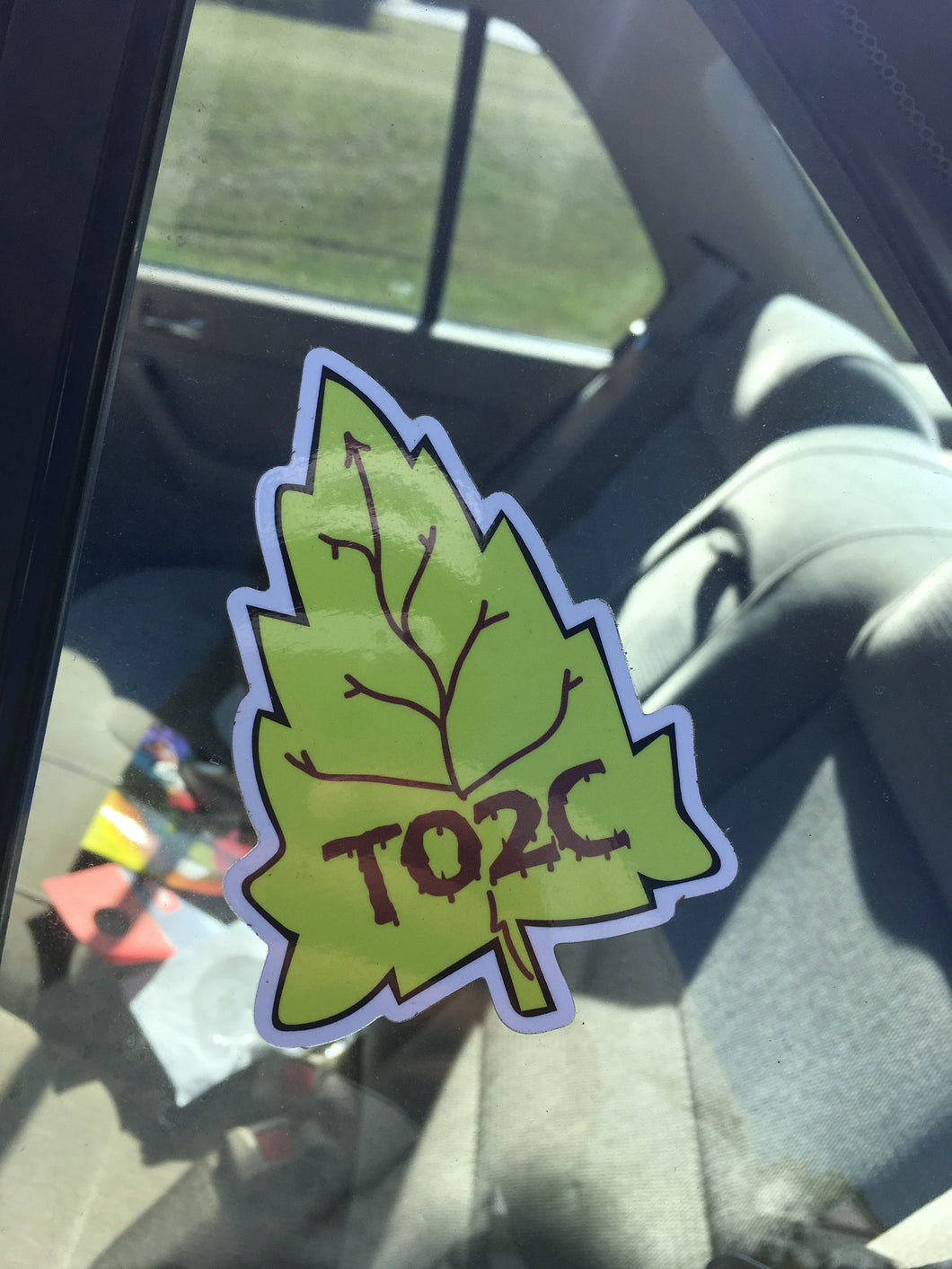 Fall Leaf Vinyl Sticker