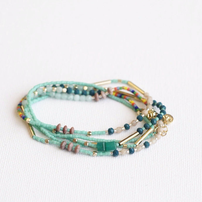 Multi-row bracelet Akkilou jewelry eshop