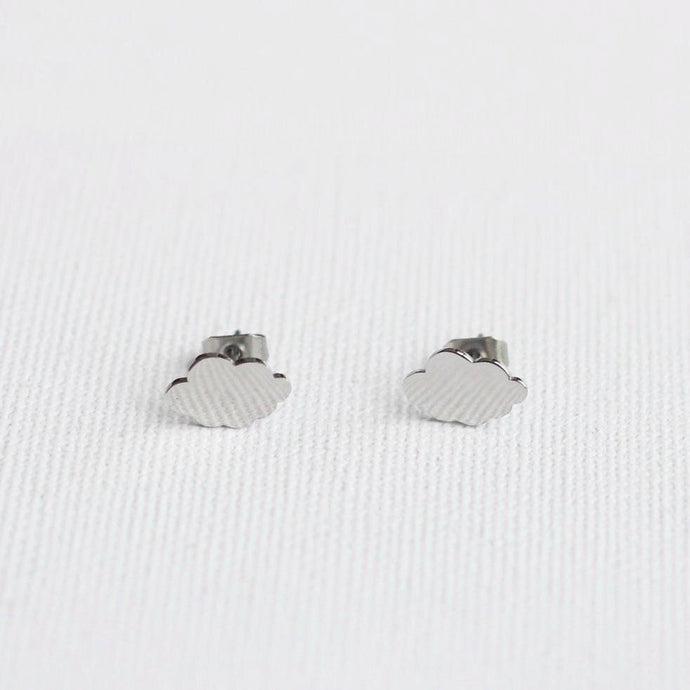 Stainless steel earrings Akkilou jewelry eshop
