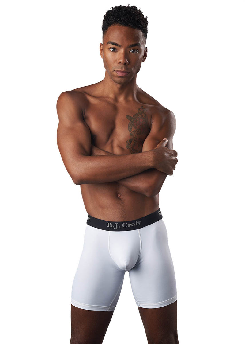 B.J. Croft Boxer Brief - White