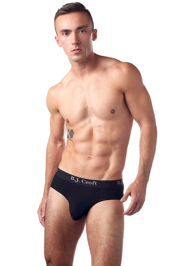 B.J. Croft Classic Brief - Black
