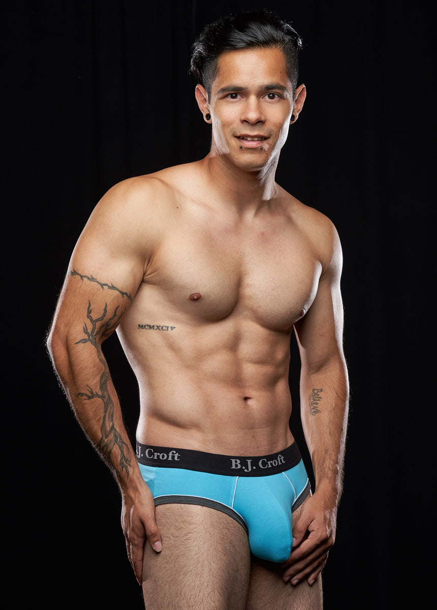 Nikko Brief: Baby Blue