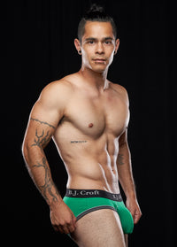 Nikko Brief: Light Green
