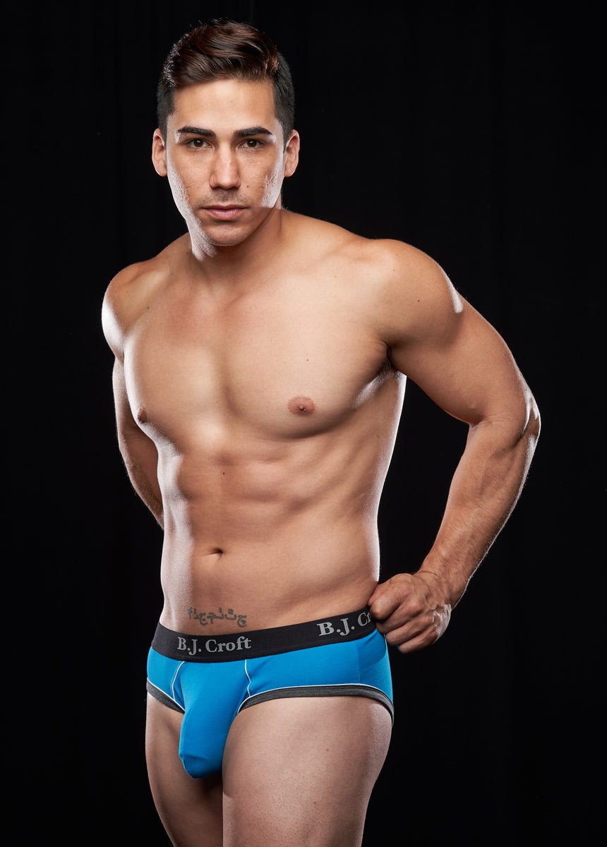 Nikko Brief: Sky Blue