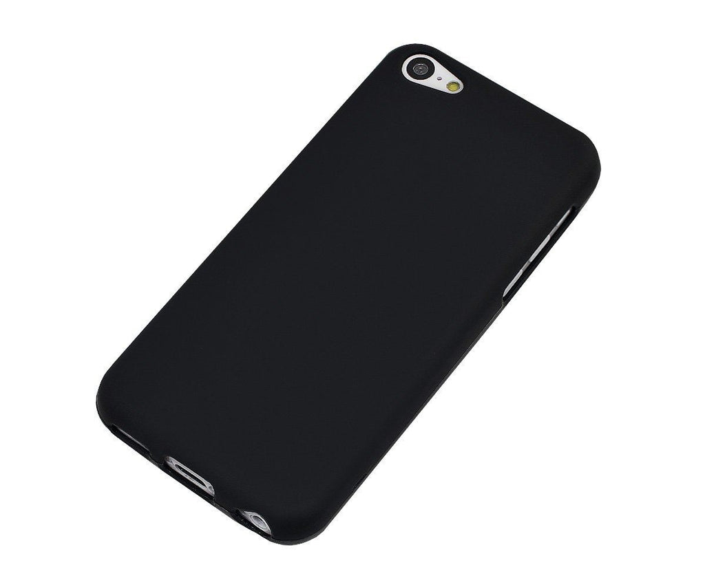 Xcessor Vapour Flexible TPU Gel Case For Apple iPhone 5C. Black