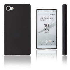 Xcessor Vapour Flexible TPU Case for Sony Xperia Z5 Compact. Black
