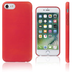 Xcessor Thermal TPU Heat Sensitive Case for Apple iPhone 7 & iPhone 8. Red