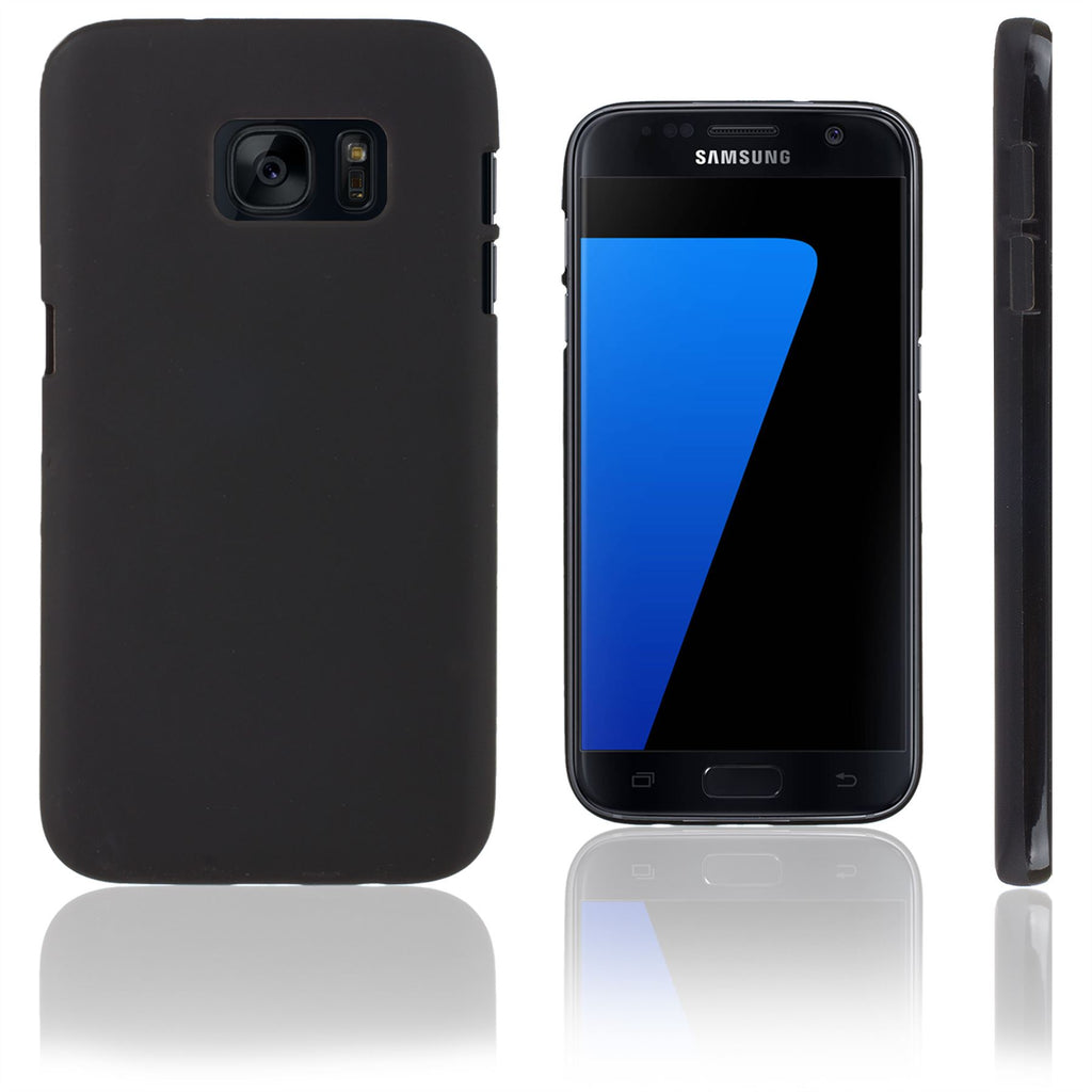 Xcessor Vapour Flexible TPU Case for Samsung Galaxy S7 SM-G930. Black