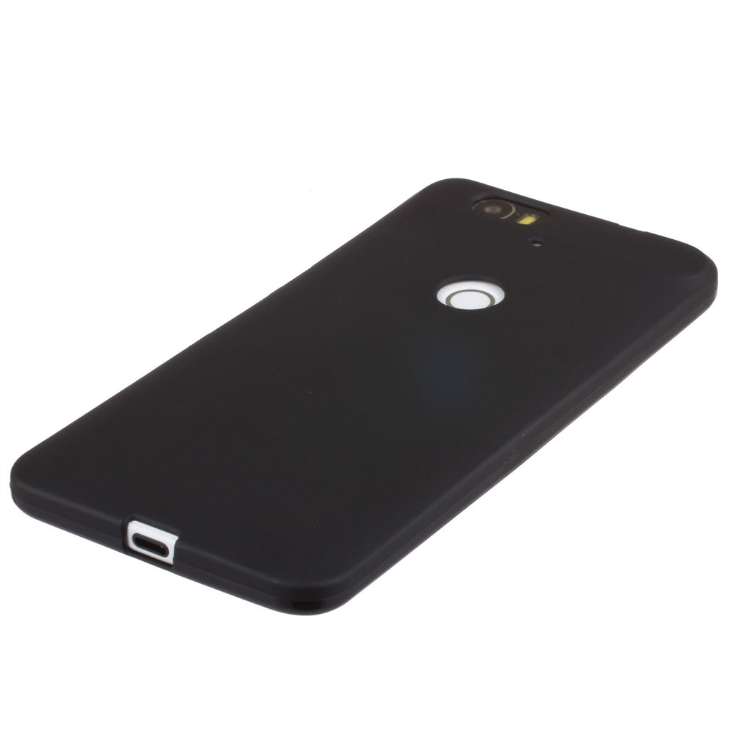 Xcessor Vapour Flexible TPU Case for Huawei Nexus 6P. Black