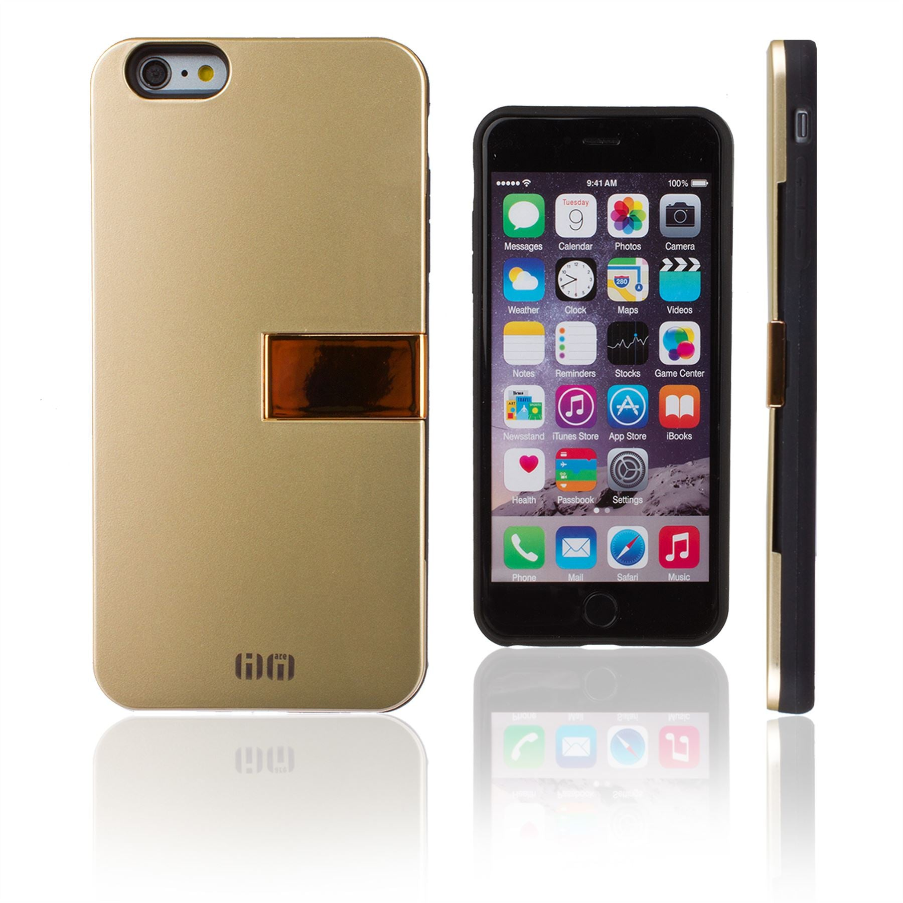 Lilware Armor Hard Plastic Case for Apple iPhone 6 and 6S. Glossy ...