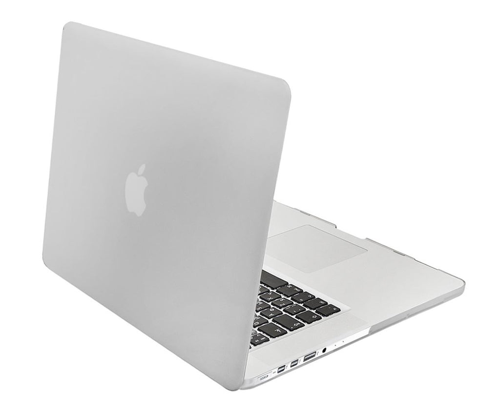Lilware Smooth Touch Slim Matte Hard Plastic Case for Apple MacBook Pro 13-inch with Retina Display Models: Mid 2014 / Late 2013 / Early 2013 / Late 2012. Semi-transparent
